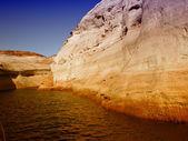 озеро пауэлл в аризоне — Стоковое фото