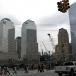 Lower Manhattan Skyscrapers near Ground Zero — Stok fotoğraf