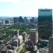 Aerial view of Boston Downtown Area — Stock Photo