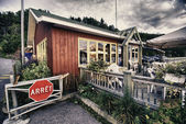Colors of Tadoussac in Quebec — Stockfoto