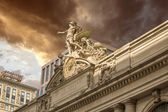 Grand Central Station Exterior view in New York City — Stock Photo