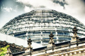 Bundestag Architectural Detail in Berlin — Stock Photo