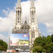 Vienn- Famous Votivkirche - Votive Church — Stock Photo #12700486