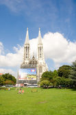 Vienna - Famous Votivkirche - Votive Church — Stock Photo