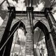 Brooklyn Bridge Architecture — Stock Photo