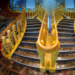 Royalty-Free Stock Photo: Staircase of a Modern Cruise Ship