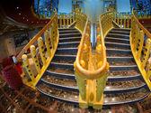 Staircase of a Modern Cruise Ship — Stock Photo
