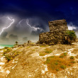 Royalty-Free Stock Photo: Tulum Mayan Ruins, Mexico