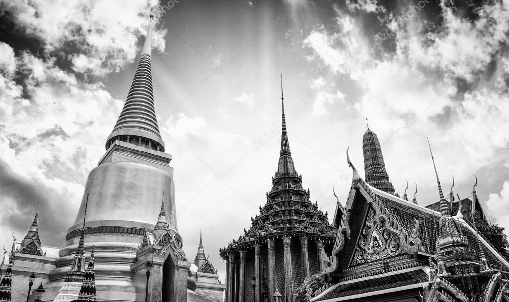 Famous Bangkok Temple - Wat Pho, Thailand  Stock Photo #13182645
