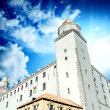 Bratislava Castle on the Hill - Stock Photo