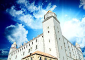 Bratislava Castle on the Hill — Stock Photo