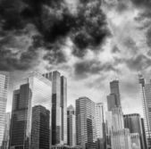Skyscrapers and Skyline of Chicago, Illinois - USA — Stock Photo