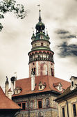 Medieval Architecture of Czech Republic during Summer Season — Stock Photo