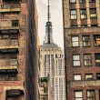 skyline van New york city-manhattan — Stockfoto