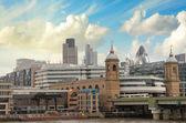City of London eines der führenden Zentren des globalen Finanzwesens und — Stockfoto