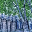 The Westminster Abbey church in London, UK - Side view — Stock Photo #13785149