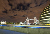 LONDON, SEP 28: London City Hall, headquarter of London Authorit — Stock Photo