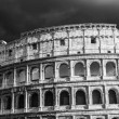 Stock Photo: Iconic ancient Colosseum of Rome