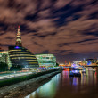 Colors, Lights and Architecture of London in Autumn — Stock Photo