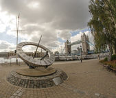 St Katharine Docks in London — Stock Photo