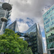 Canary Wharf is a large business and shopping development in Eas — Stock Photo