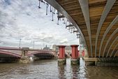 Structure and Architecture of London Bridges - UK — Foto de Stock