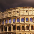 The Colosseum in Rome with Dramatic sky — Stock Photo #14689099