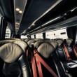 Stock Photo: Bus Interior, England