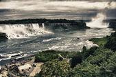 Watervallen bij niagara — Stockfoto