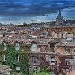 Panoramic view of Rome from Pincio Promenade, St Peter Square on — Stock Photo