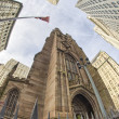 Trinity Church in New York City - Stok fotoğraf