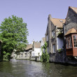 Stock Photo: Architecture and Colors of Bruges