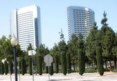 San Diego Skyscrapers — Stock Photo