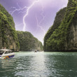 Storm over Thailand Lagoon — Stock Photo #15547127