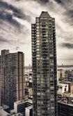 Detalle arquitectónico de la ciudad de nueva york — Foto de Stock