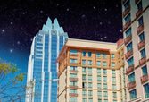 Skyscrapers of Austin, Texas — Stock Photo