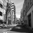 Architectural detail of Tokyo, Black and White view — 图库照片
