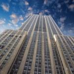 New York City : Empire state building facade — Zdjęcie stockowe