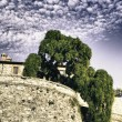 Ancient Architecture of Umbria - Stockfoto