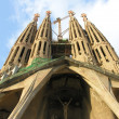 Barcelona, Spain: La Sagrada Familia — Stock Photo