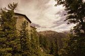 Montañas y una vegetación en berchtesgaden, alpes alemanes — Foto de Stock