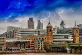 Colors, Lights and Architecture of London in Autumn — ストック写真