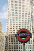 LONDON SEP 27: Close up of two traditional station signs — Stock Photo