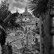 View of Piazza del Popolo in Rome from the stairs — Stock Photo #17073151