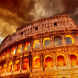 Colosseum in Rome - Stock Photo