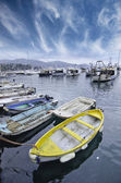 Landscape of Santa Margherita Ligure — Stock Photo