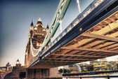 Scenic night view of Tower Bridge in all its magnificence - Lond — Stock Photo