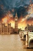 Houses of Parliament, Westminster Palace — Foto de Stock