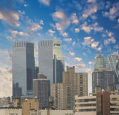 Beautiful view of New York Skyscrapers — Stock Photo