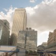 Office Buildings and Skyscrapers in Canary Wharf — Stock Photo #18147765